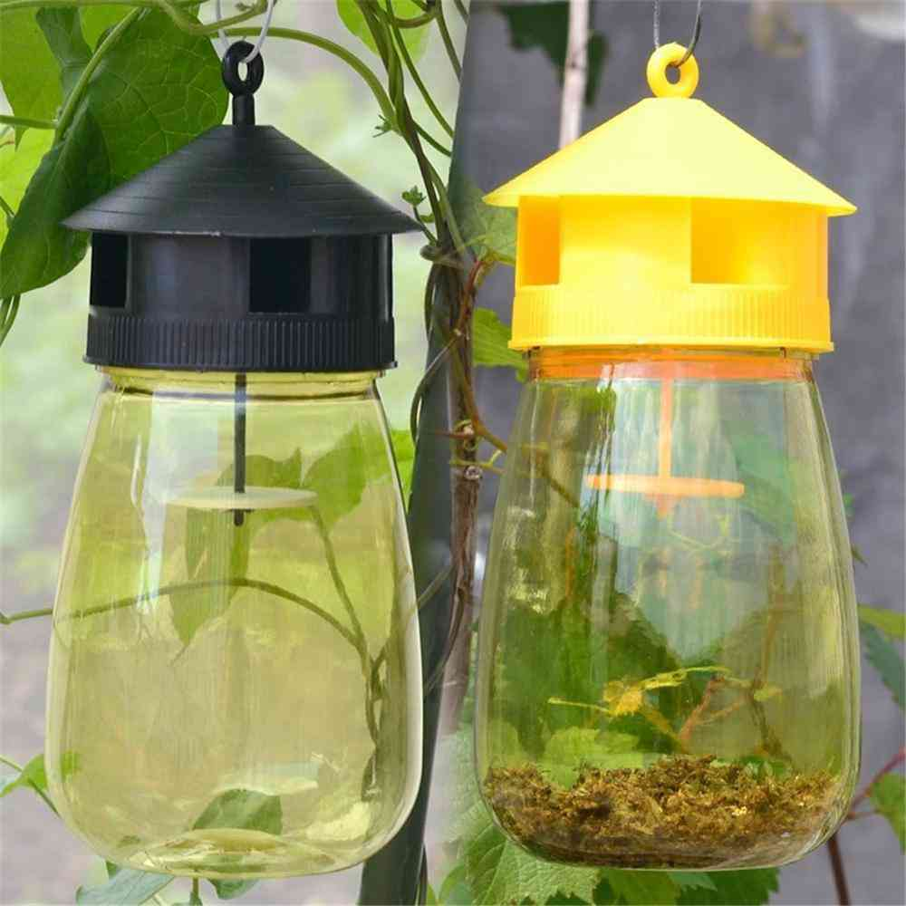 Wasp Trap Fruit Fly Flies Insect Bug Hanging Honey-trap Catcher Killer No-poison Hanging Tree Pest Control Tool