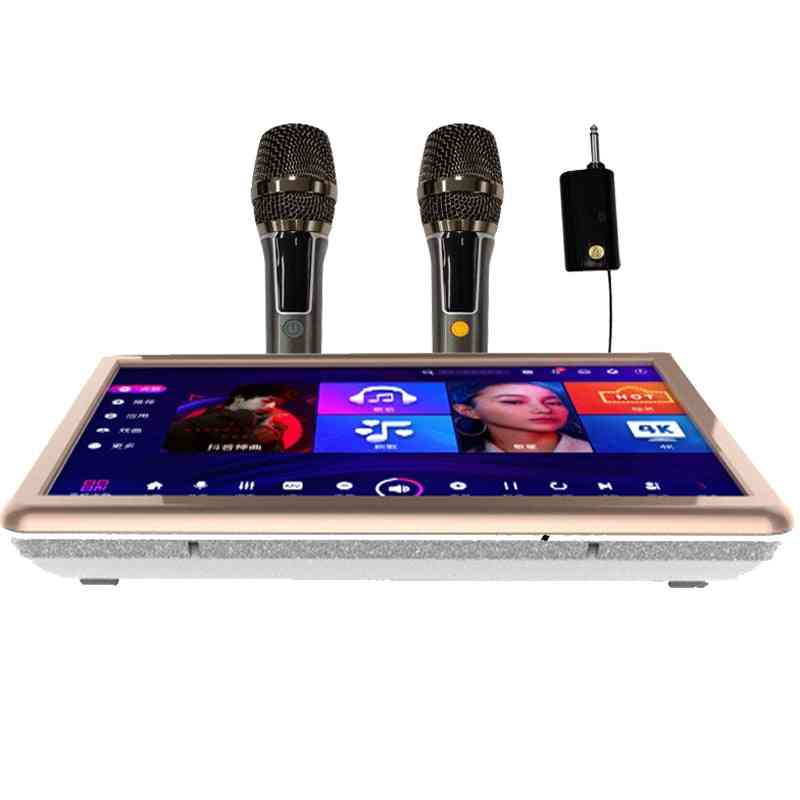 Echo Cloud Karaoke Player, Chinese + English Songs, Built-in Hybrid Amplifier, Android And Ktv Dual System