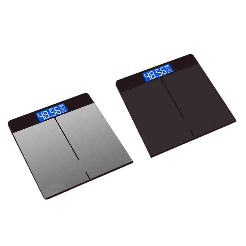 Tempered Glass Digital Body Weight Scale Usb Charging