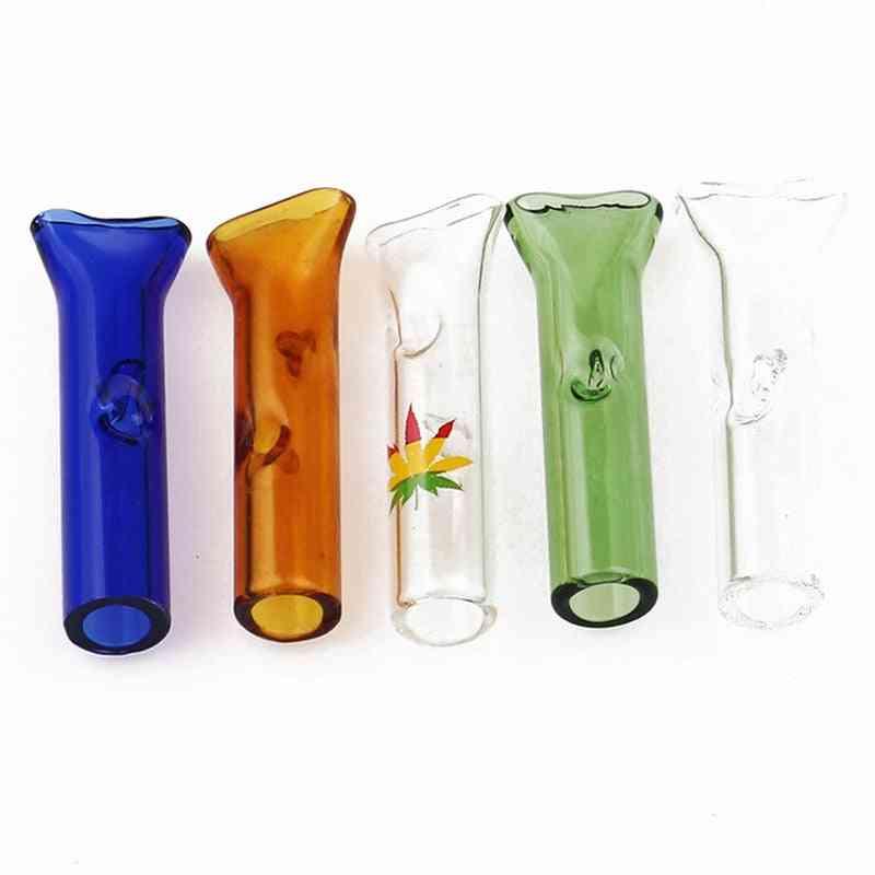 Multicolor Glass Filter Small Cigarette Holder Pipes