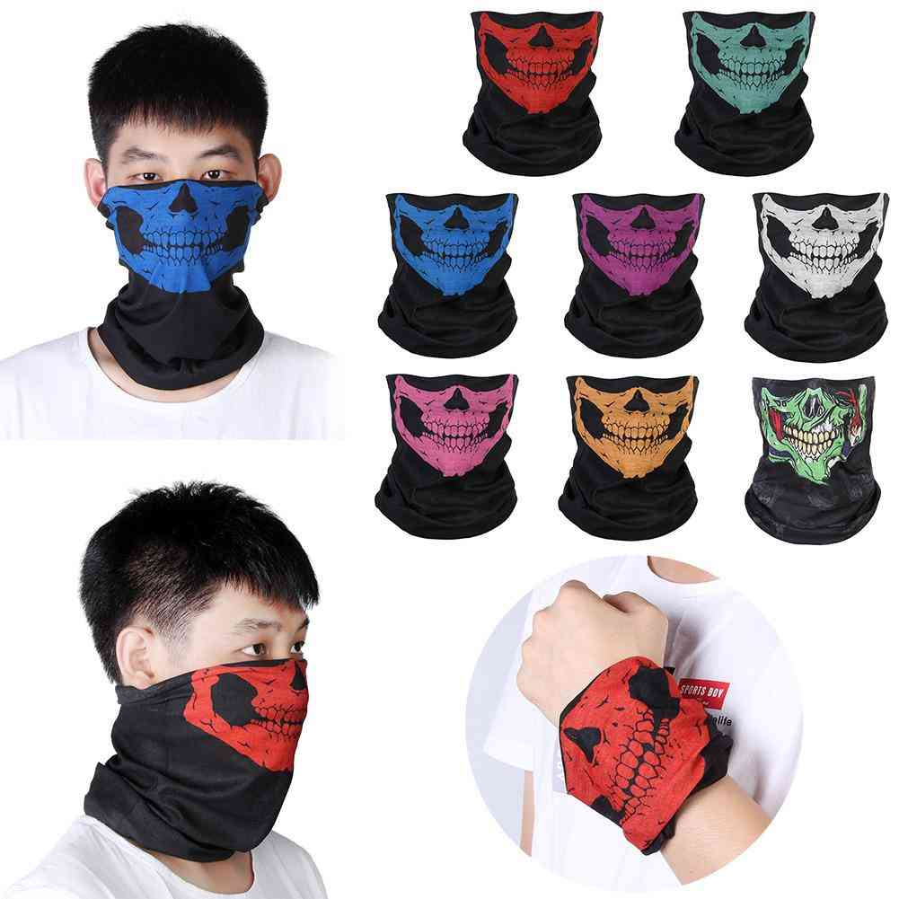 Multi Use Hiking Neck Warmer Half Face Mask
