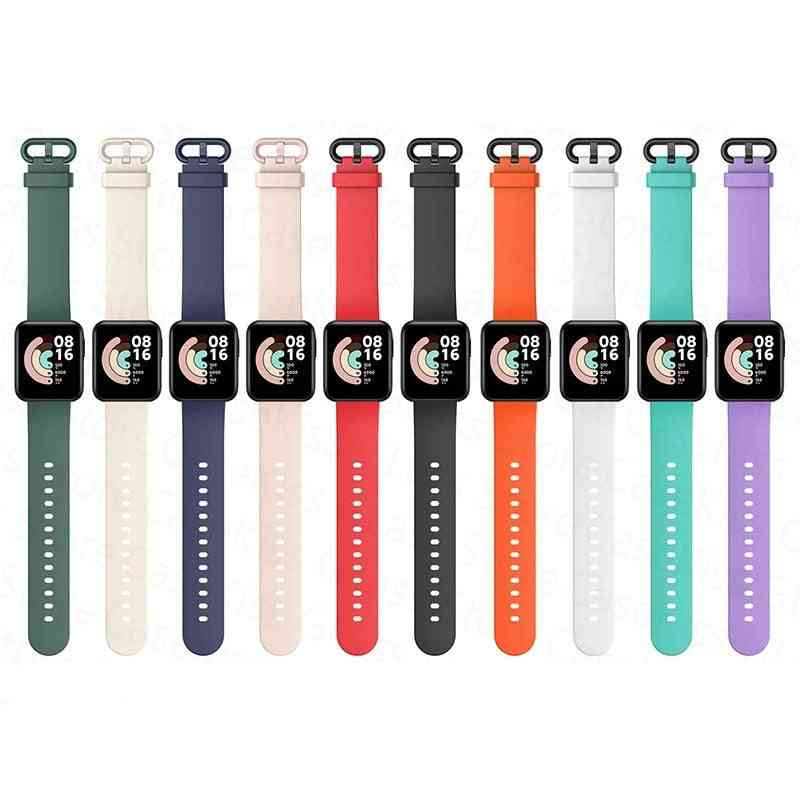 Silicone Strap Watch Lite, Global Version Smart Watch Replacement, Sport Bracelet Wristband
