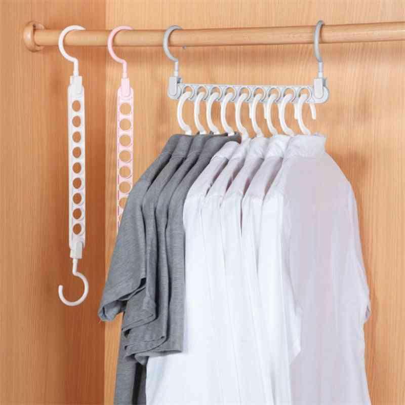 Magic Clothes Hanger, Multi-function Folding Hanger