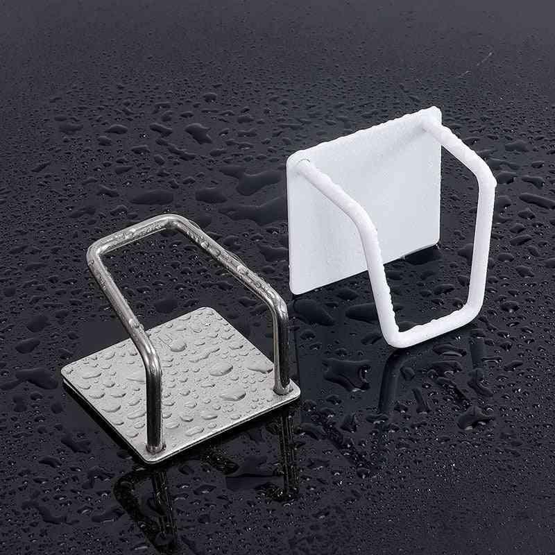 Sponges Holder, Non-slip Stainless Steel Sink Accessories