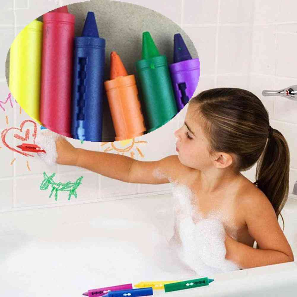 Bathroom Crayon Erasable Graffiti Toy