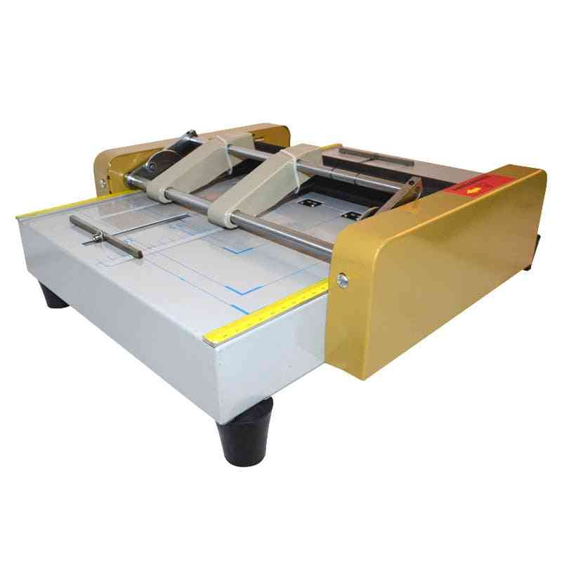 Electric Stapler Folding, A3 Creasing Card Color Pages Dashed Machine