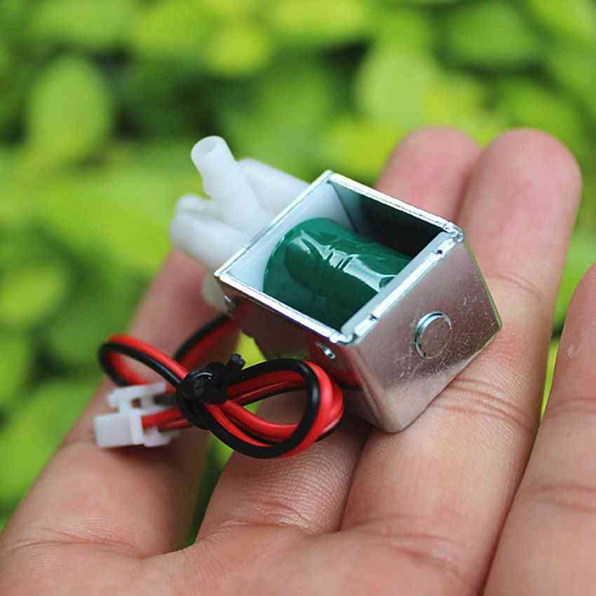 Miniature Solenoid Valve, Normally Closed Dc, Electric Vent For Garden Watering