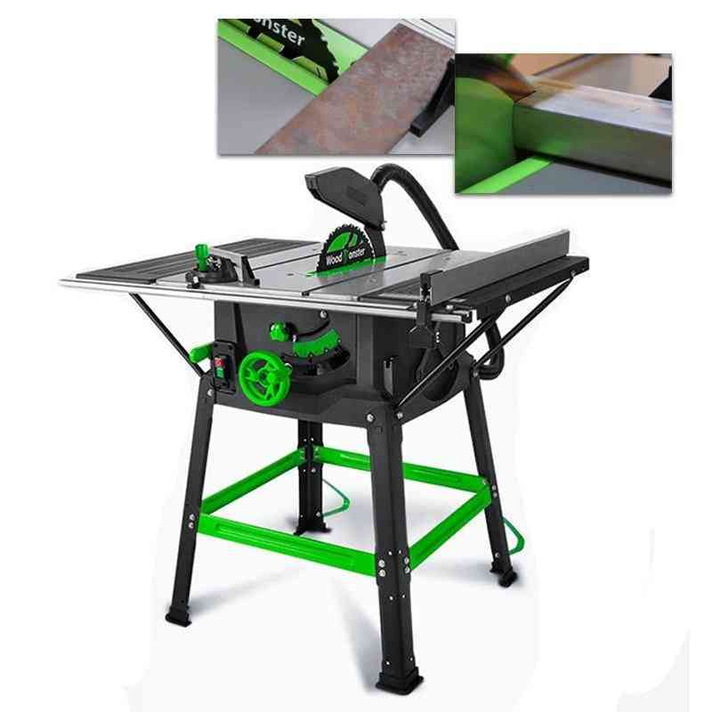 Multifunctional Woodworking Sliding Table Saw Power Tool Cutting Machine