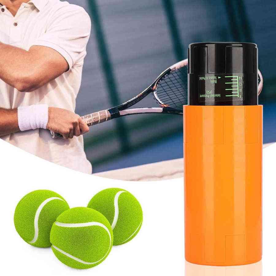 Tennis Ball Container, Box, Pressure Maintaining Repairing Storage Can