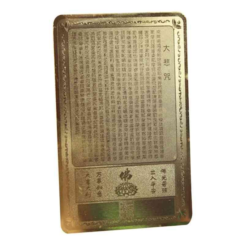 Opening Guanyin Amulets Card