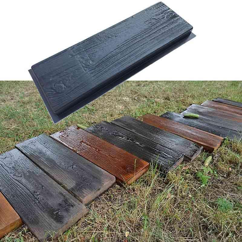 Imitation Wood Grain Path