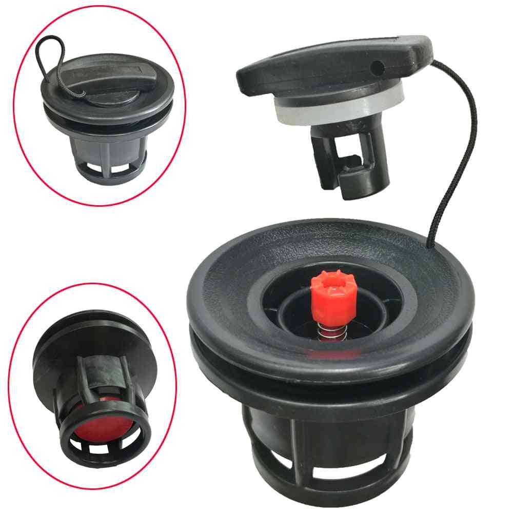 Inflatable Rubber Air Valve Caps For Dinghy Raft, Pool Fishing Boat