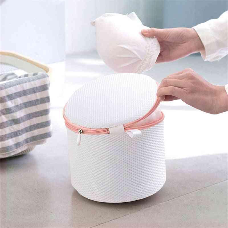 Bras Washing, Thicken Polyester Underwear Laundry Bag