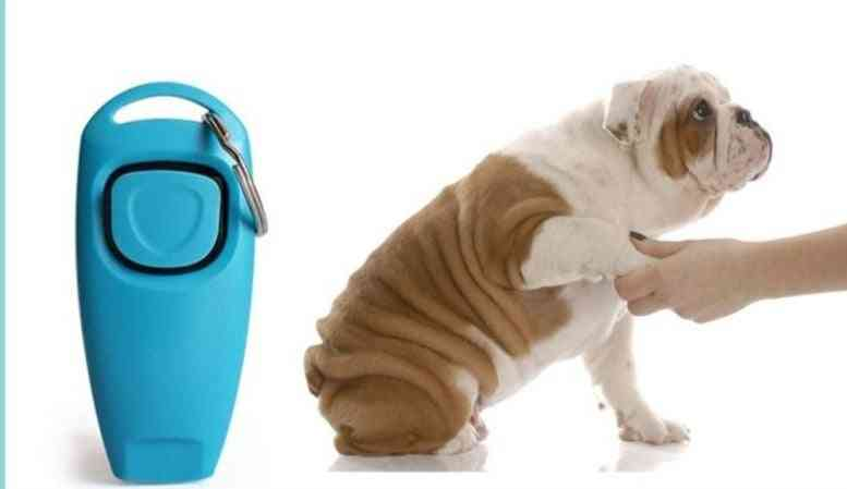 Pet Dog Whistle And Clicker Puppy Stop