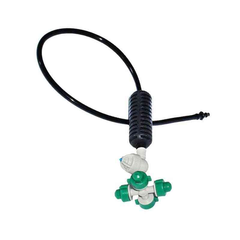 Greenhouse Drip Irrigation Cross Atomizing Sprayer Nozzle Anti Drip Misting Water Nozzle For Greenhouse 10set