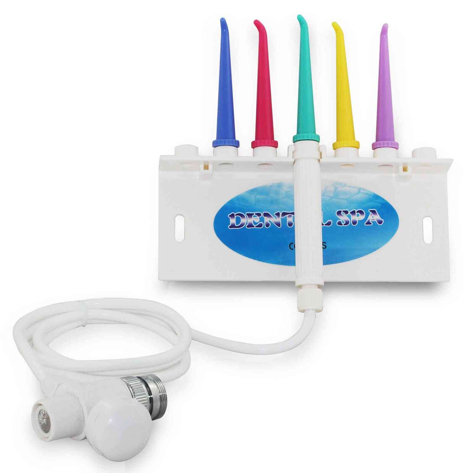 Faucet Water Oral Irrigator Dental Flosser