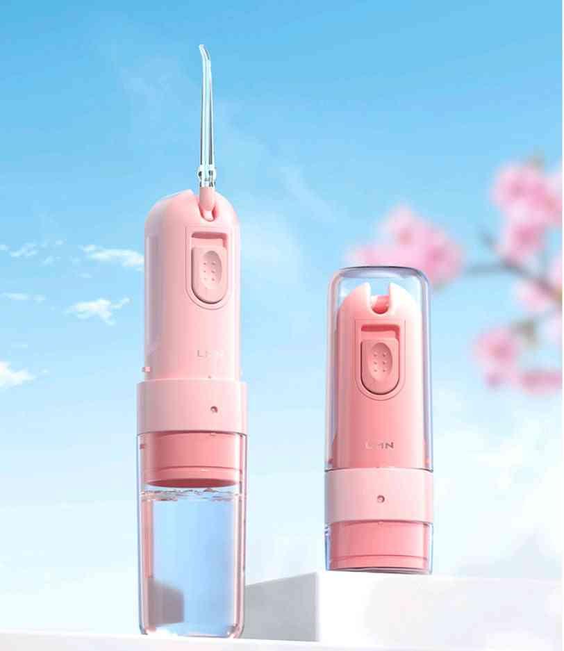 Usb Rechargeable Water Jet Flosser, Portable Dental Floss