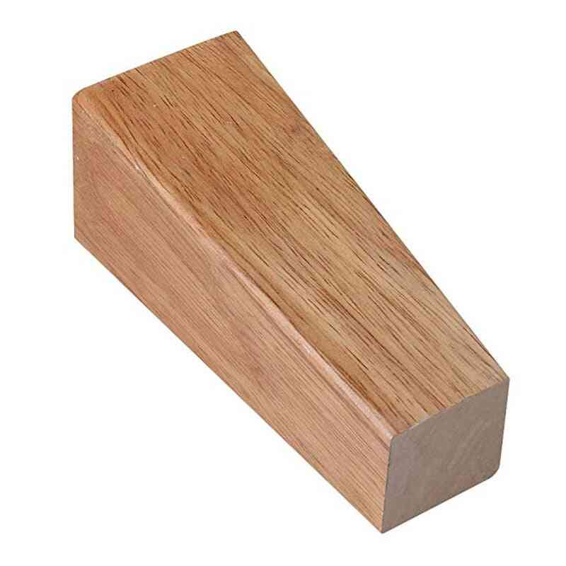 Wooden Furniture Cabinet Leg Right Angle Trapezoid Feet Replacement