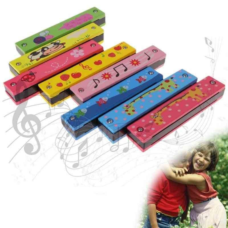 Harmonica Key Of C Mouth, Metal Organ For Beginners