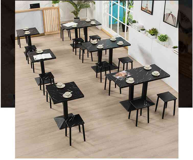 Restaurant Snacks Catering Business Stool Coffee Shop Small Round Square Table