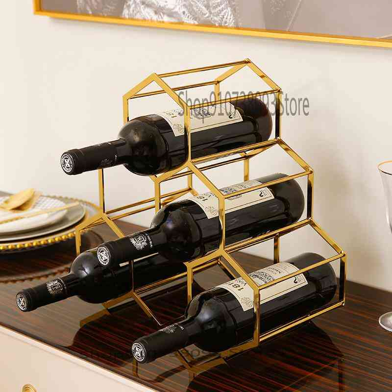 Room Creative Wine Cabinet Modern Simple Household Dining Table