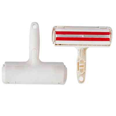 2-way Pet Hair Remover Roller Lint Remove Brush