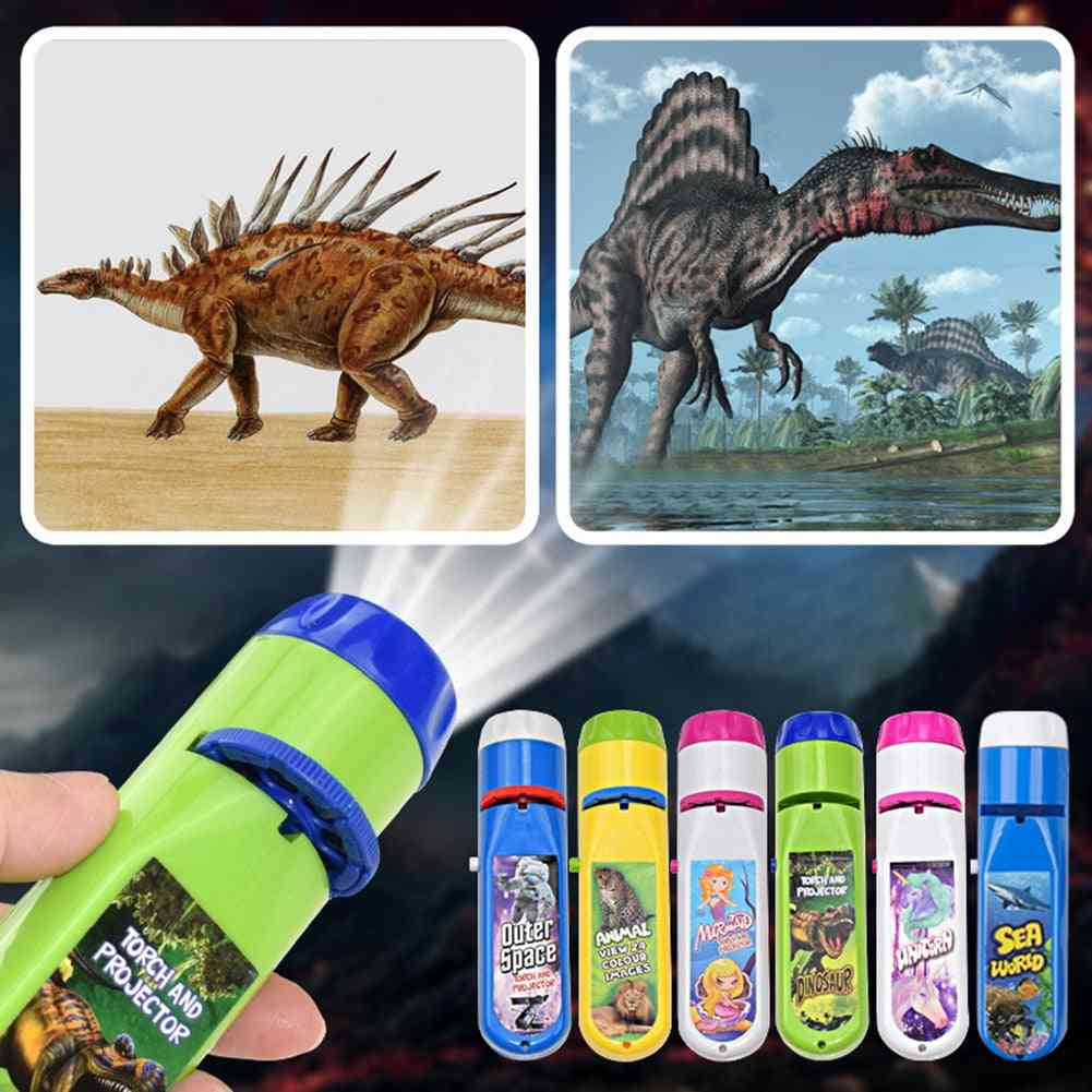 Animal Dinosaur Slides Projector Lamp