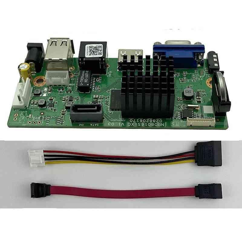 H.265 9ch*4k Nvr Network Dvr Digital Video Recorder Board Ip Camera Max