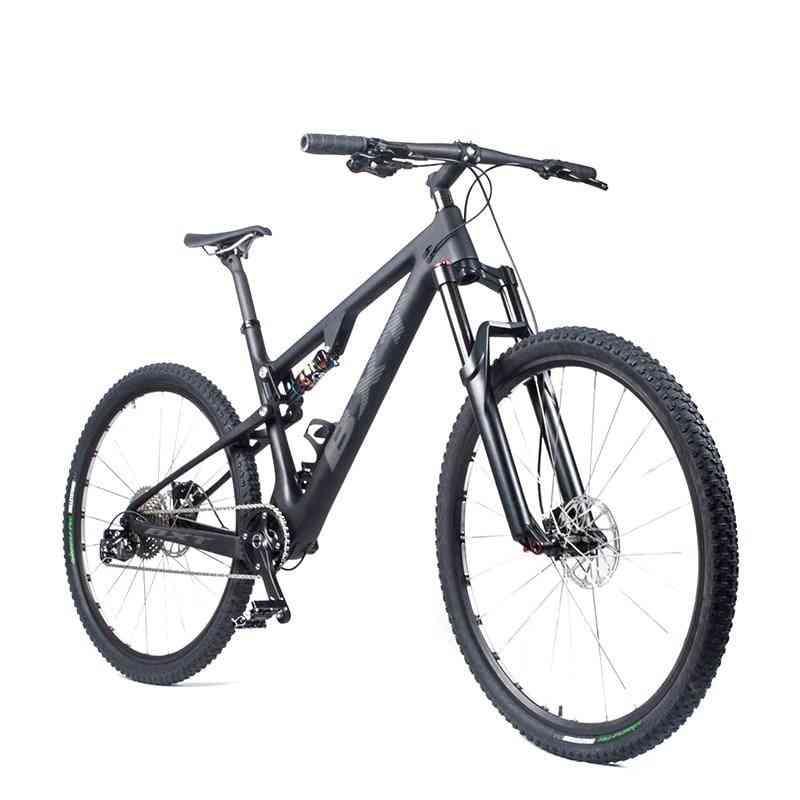 Full Suspension Mountain Bicycle, Carbon Mtb Bike