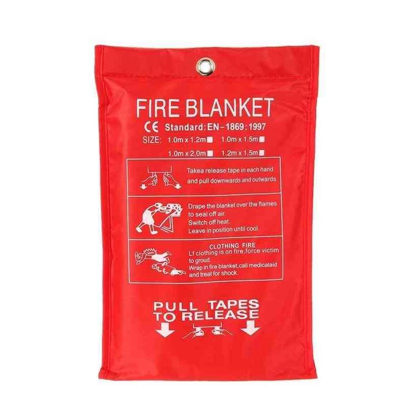 Fire Blanket Fiberglass Emergency Survival Fire Shelter