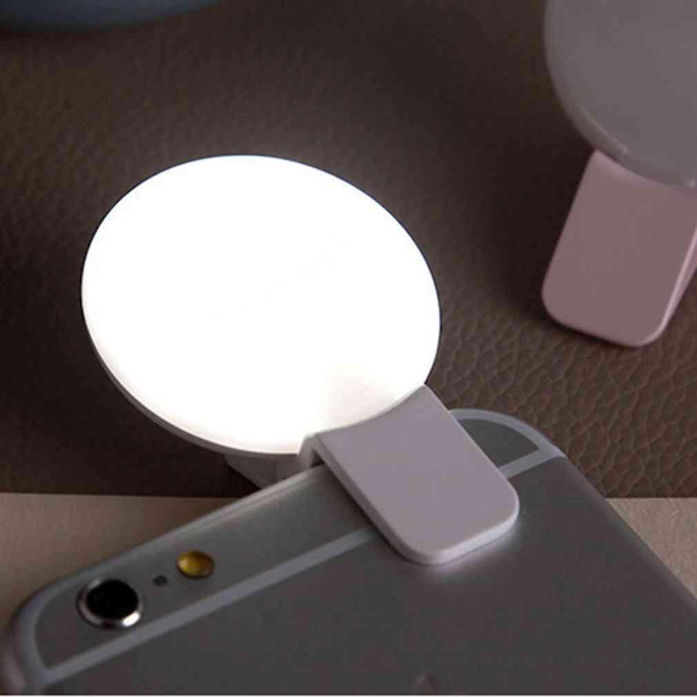 Selfie Led Ring Flash Light