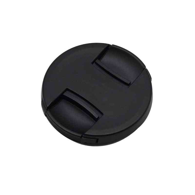Center Pinch Snap-on Cap Cover For Canon Camera Lens