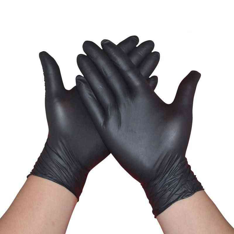 Disposable Nitrile Black Gloves
