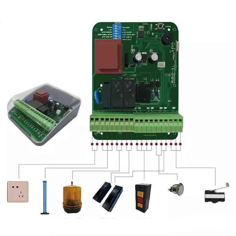 Newest Wireless Garage Door Controller Switch Rolling Shutter Tubular Motor Controller