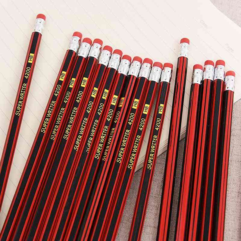 Classic Simplicity Pencil With Rubber