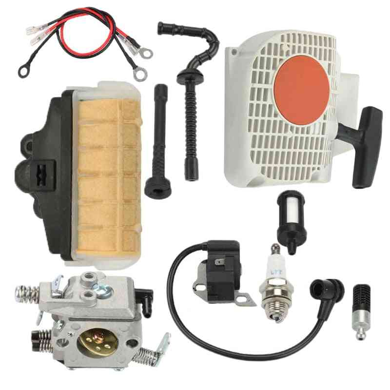 Ture Up Kit, Recoil Starter, Spark Plug, Air Filter Fuel Pipe, Ignition Coil