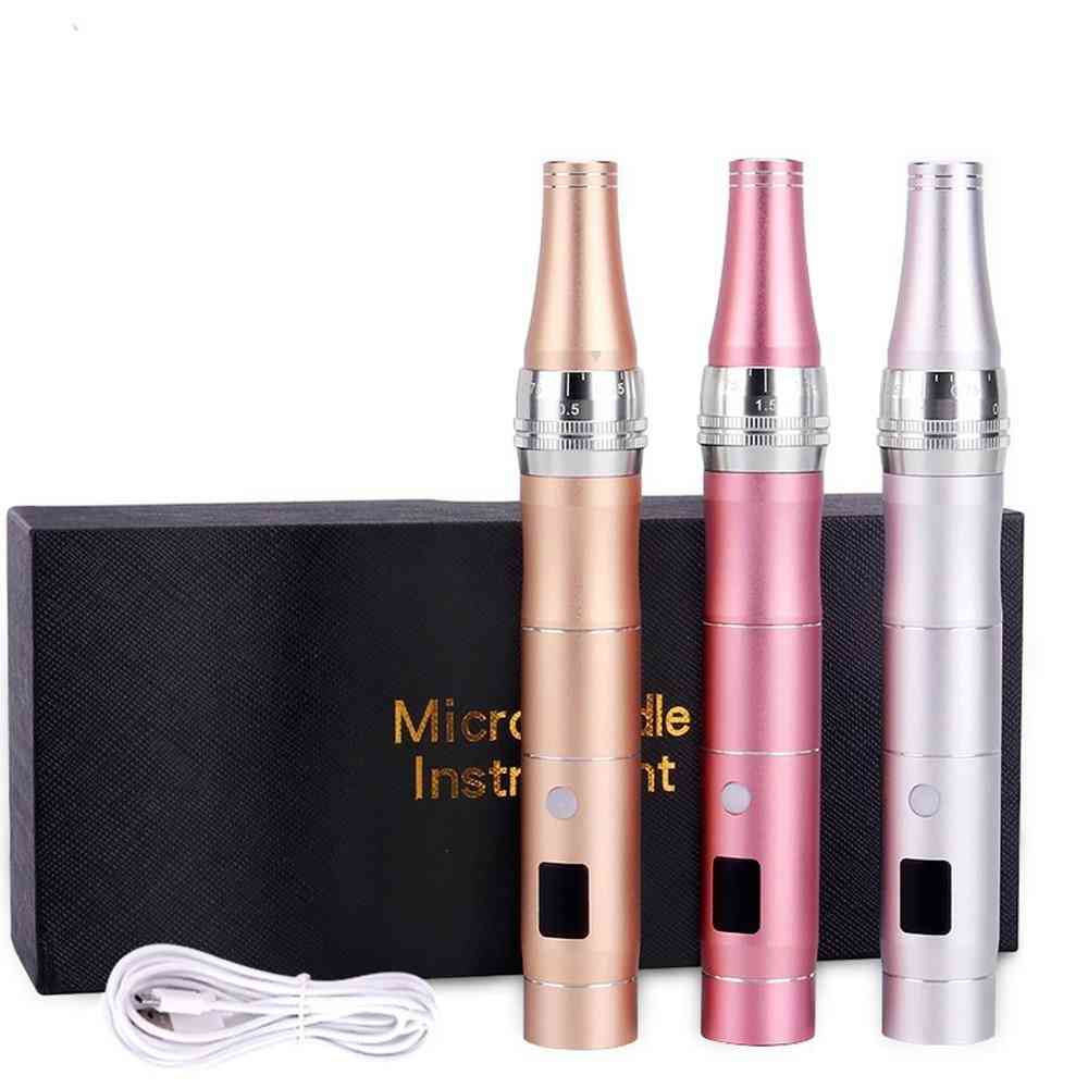 Wireless Electric Derma Pen With Led Display Microblading