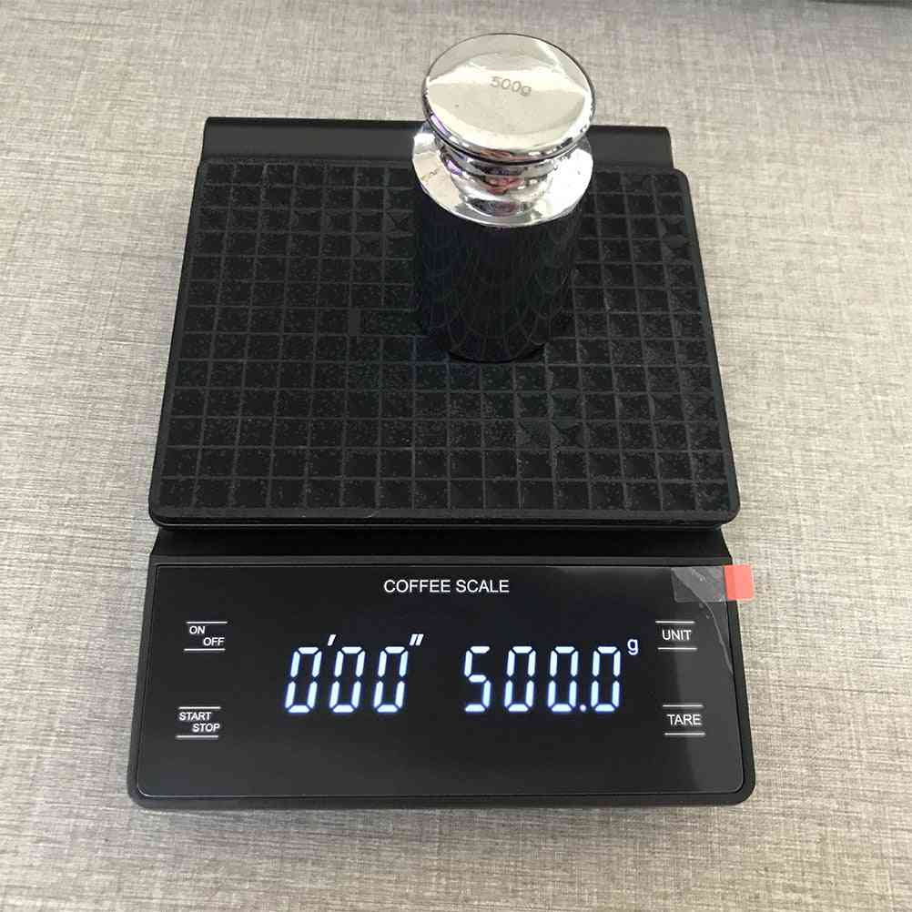 Electronic Coffee Scale With Timer