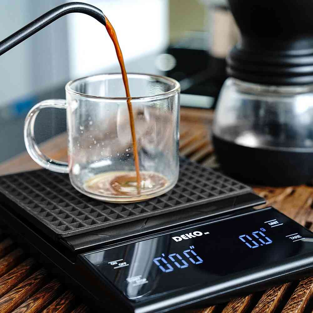 Portable Electronic Digital Coffee Scale With Timer