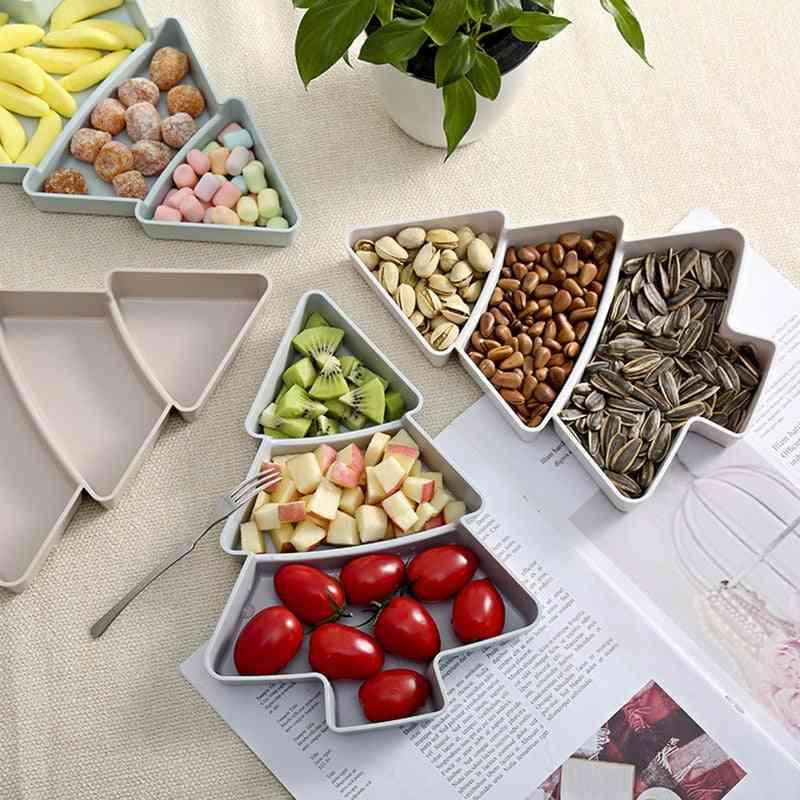 Creative Christmas Tree Shape Dry Fruits Storage Box
