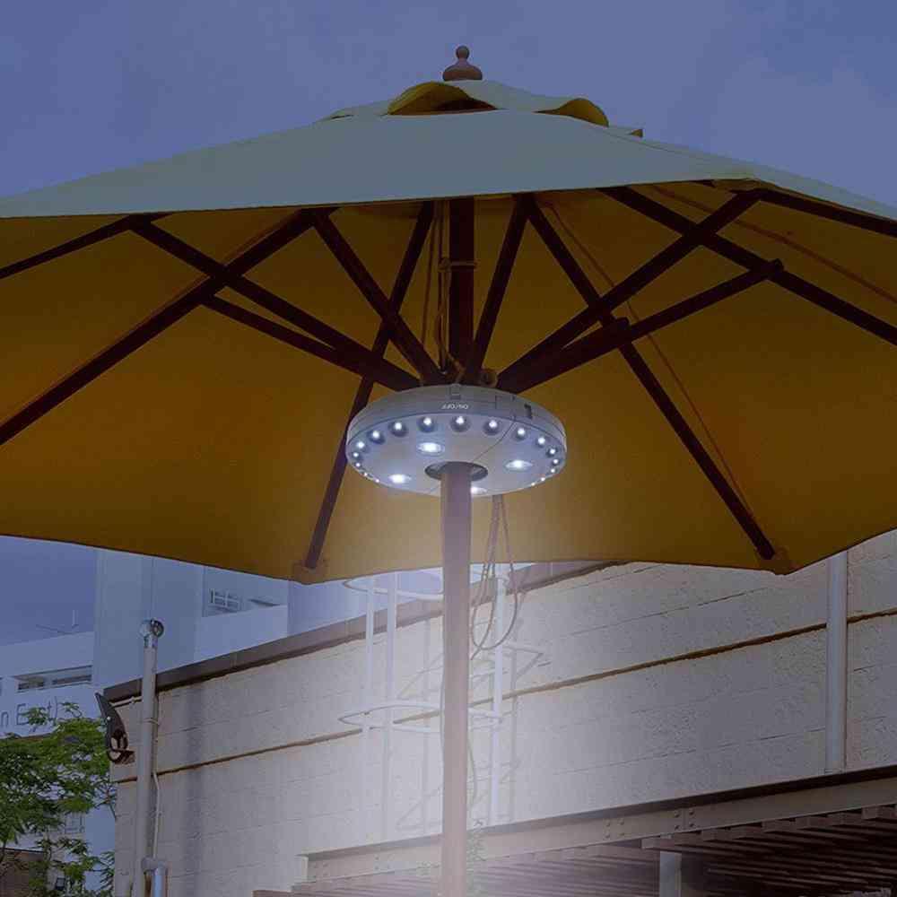 Umbrella Pole Light Cordless 28led Patio Umbrella Pole Light Camping Tent Lamp