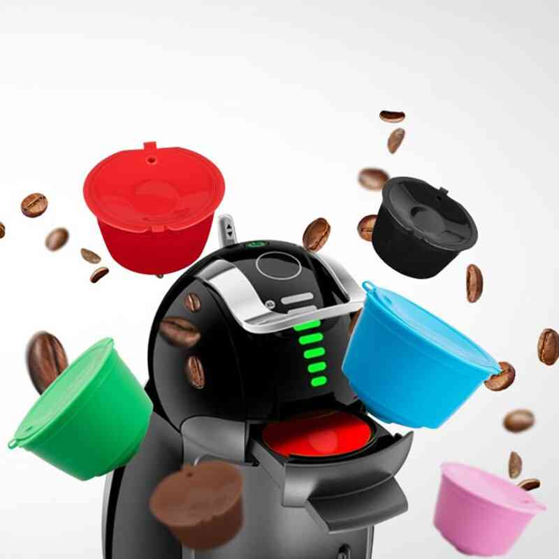 Reusable Coffee Filter Cup, Refillable Capsules