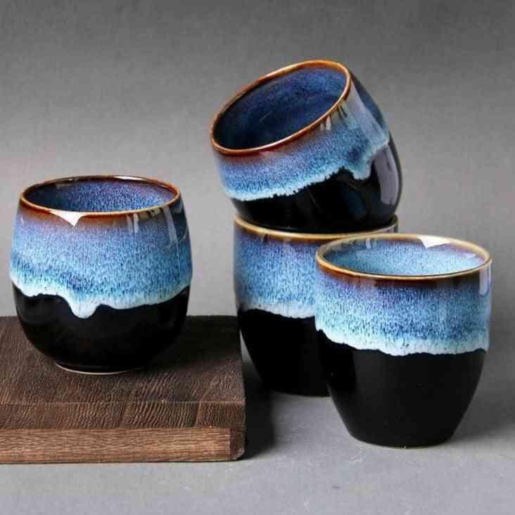 Large Ceramic Porcelain Teacup Kung Fu Tea Set