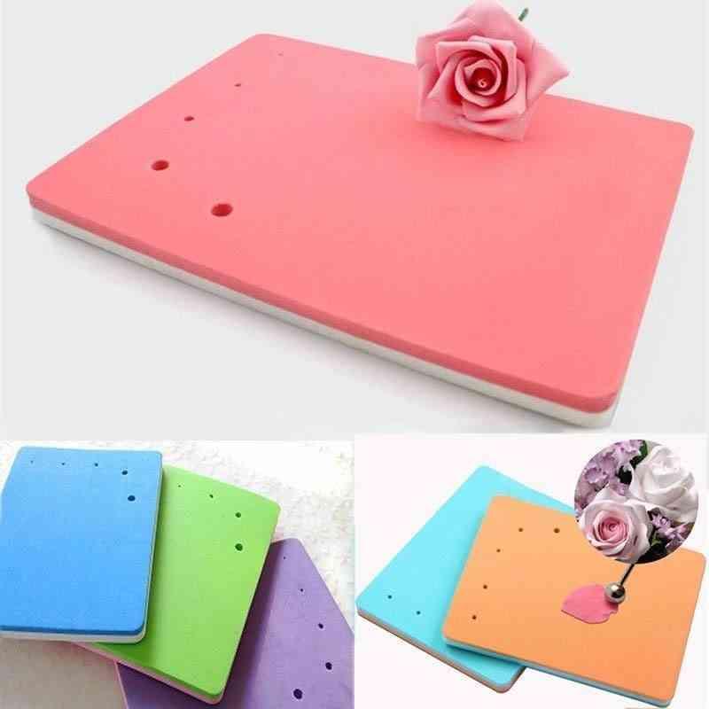 Sponge Cake Foam Pad, Flower Modelling Gum Paste Fondant Cake Mat