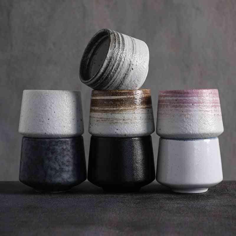 Big Capacity Ceramic Porcelain Chinese Kung Fu Teacups
