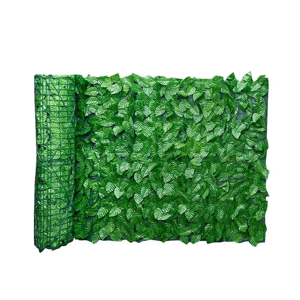 Artificial Leaf Privacy Fence Roll Wall Landscaping Fence Privacy Fence Screen Outdoor Garden Decoration Backyard Balcony Fence
