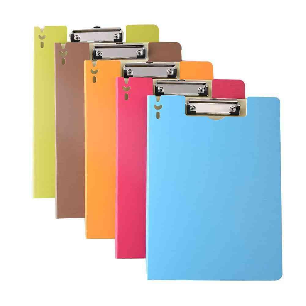 A4 File Document Folder Holder Organizer Writing Board School Office Supply