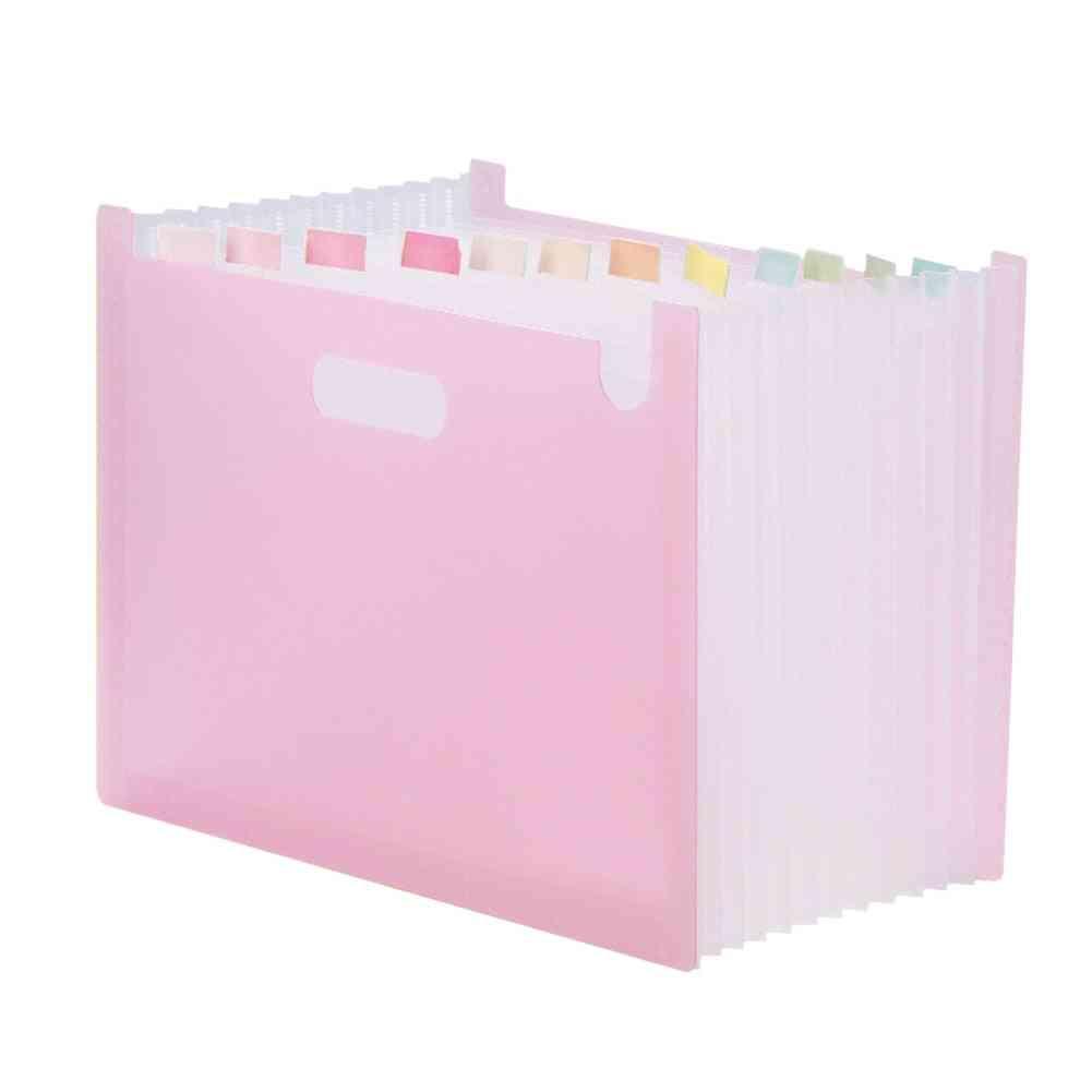 Document Organizer File Folder Storage Bag Office Accessories