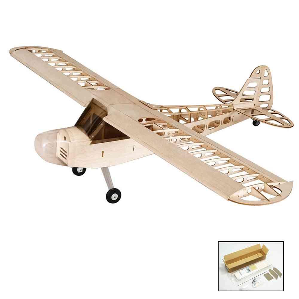Diy Flying Model, Wood Rc Airplane Remote Control