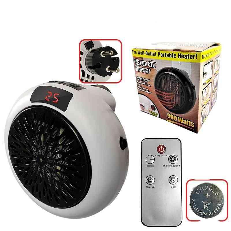 900w Mini Electric Fan Heater & Warm Air Fan Heater Warmer Fan